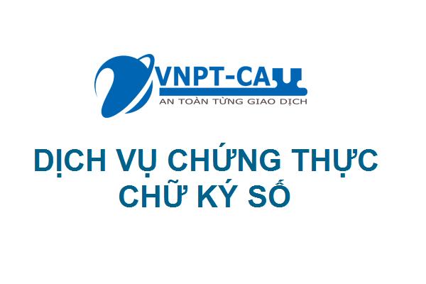 Dịch vụ chữ ký số VNPT